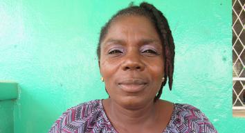Joyce, trainer at Mineke Foundation