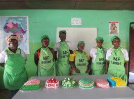 baking - exams - vocational training - mineke foundation