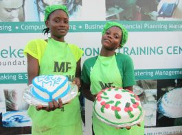 baking - vocational training - mineke foundation