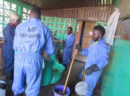 soap making practical - vocational training - mineke foundation