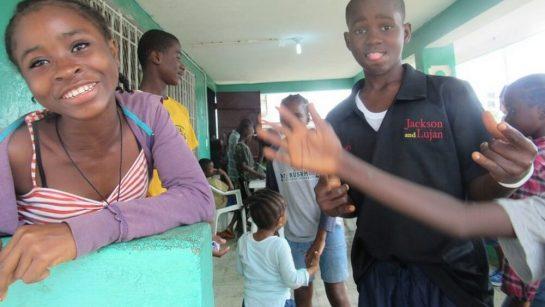 Children playing at Mineke Foundation