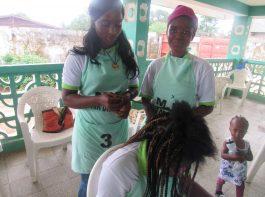 hairdressing - vocational training - mineke foundation