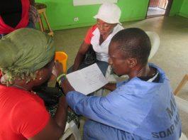 soap making explanation - vocational training - mineke foundation